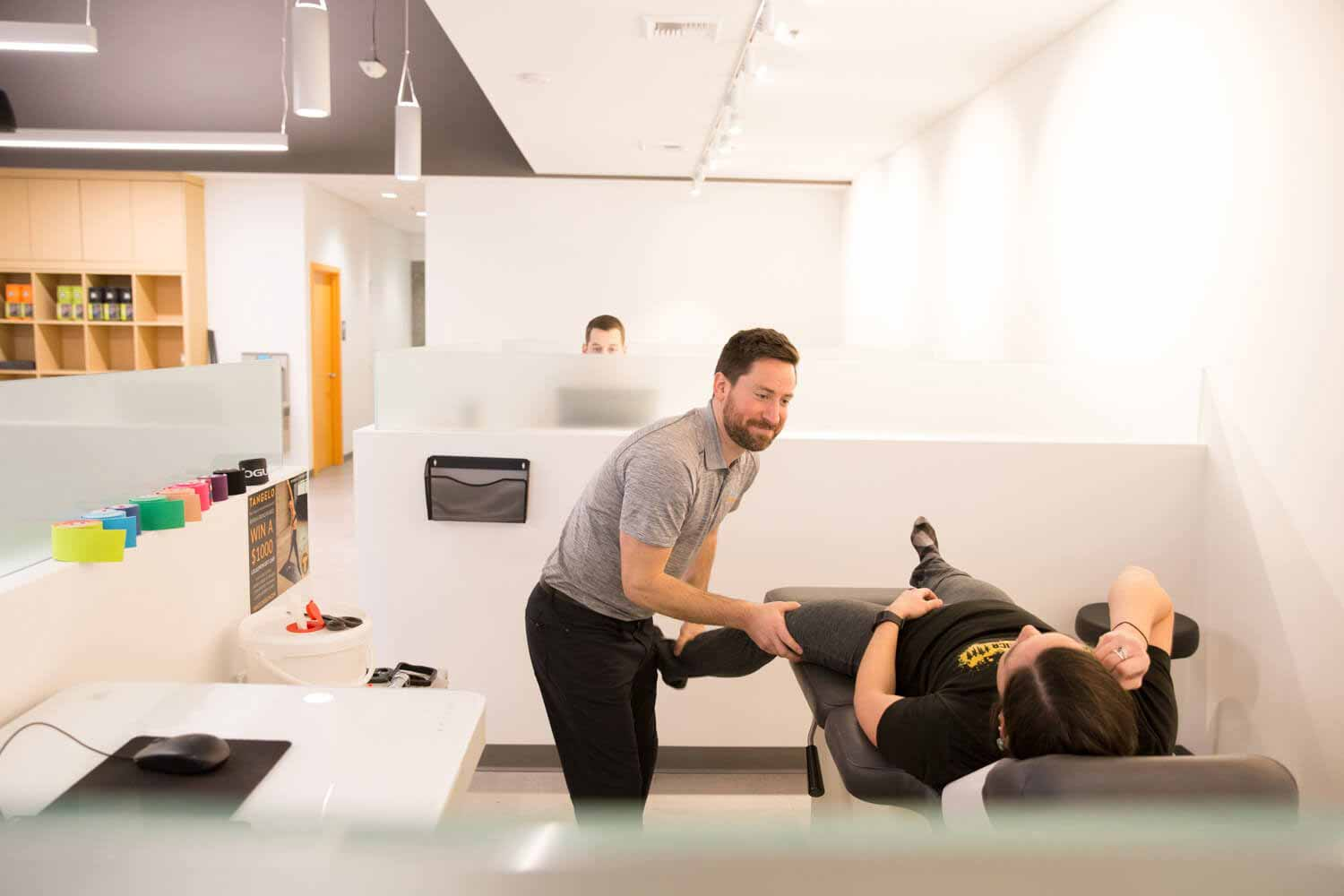 sports injury assessment by a chiropractor